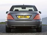 Mercedes-Benz S 350 CDI UK-spec (W221) 2009–13 pictures