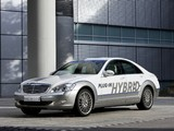 Mercedes-Benz Vision S 500 Plug-In Hybrid Concept (W221) 2009 pictures