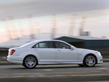 Mercedes-Benz S 350 CDI AMG Sports Package UK-spec (W221) 2009–13 wallpapers