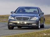 Mercedes-Benz S 350 CDI UK-spec (W221) 2009–13 wallpapers