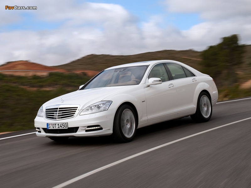 Mercedes-Benz S 400 Hybrid (W221) 2009–13 wallpapers (800 x 600)