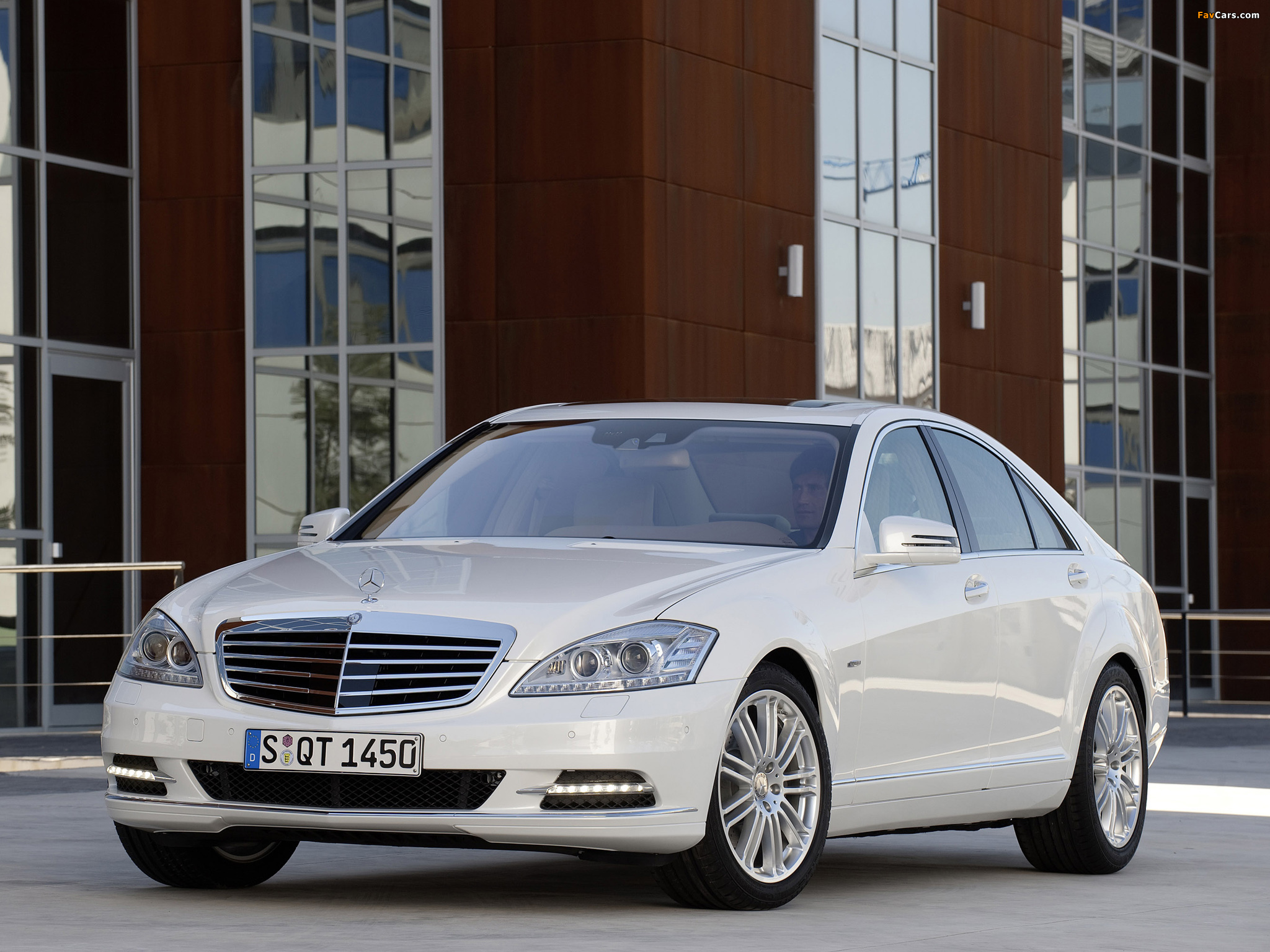 Mercedes-Benz S 400 Hybrid (W221) 2009–13 wallpapers (2048 x 1536)