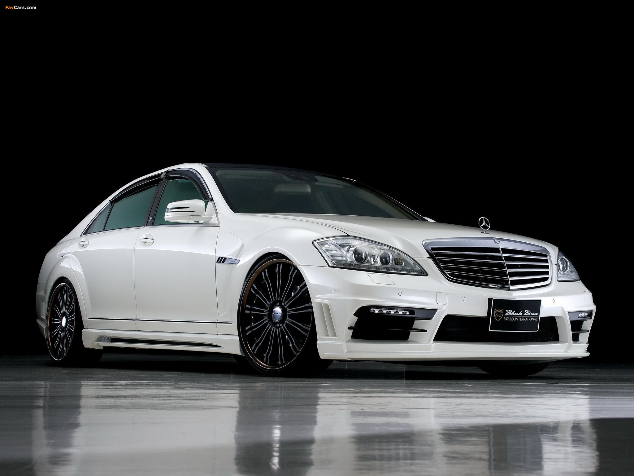 WALD Mercedes-Benz S-Klasse Black Bison Edition Sports Line (W221) 2010–13 images (2048 x 1536)