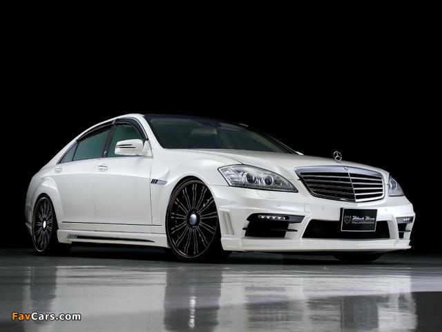 WALD Mercedes-Benz S-Klasse Black Bison Edition Sports Line (W221) 2010–13 images (640 x 480)