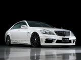 WALD Mercedes-Benz S-Klasse Black Bison Edition Sports Line (W221) 2010–13 images