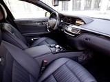 Mercedes-Benz S 600 Guard Pullman (W221) 2010–13 images