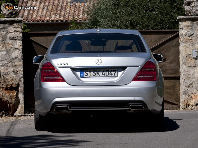 Mercedes-Benz S 350 BlueEfficiency AMG Sports Package (W221) 2010–13 images (640 x 480)