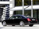 Mercedes-Benz S 600 Guard (W221) 2010–13 images