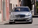Mercedes-Benz S 63 AMG (W221) 2010–13 photos