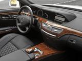 Mercedes-Benz S 65 AMG US-spec (W221) 2010–13 photos