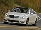 Mercedes-Benz S 65 AMG US-spec (W221) 2010–13 pictures