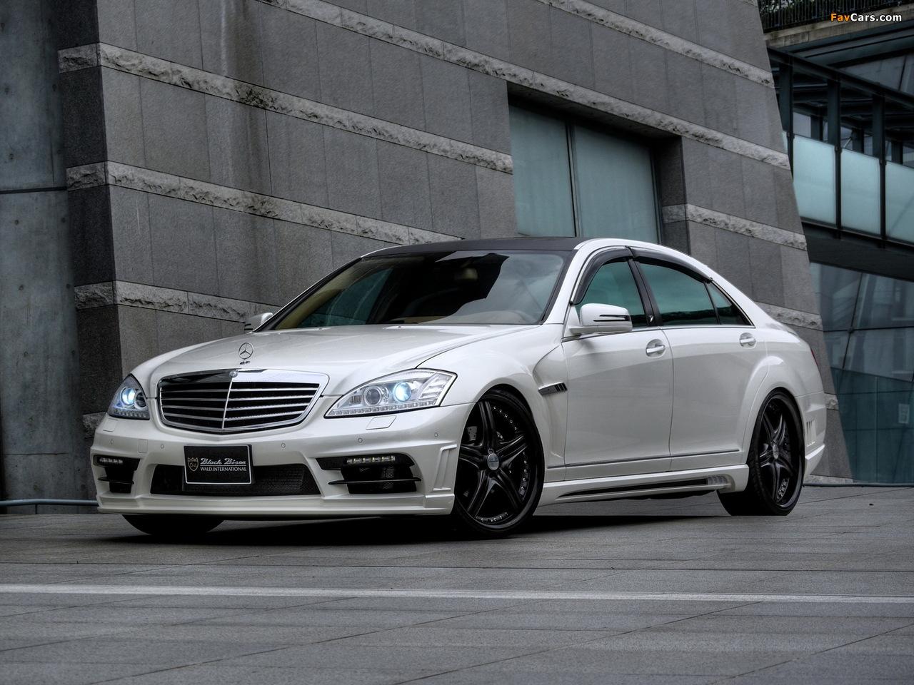 WALD Mercedes-Benz S-Klasse Black Bison Edition Sports Line (W221) 2010–13 pictures (1280 x 960)
