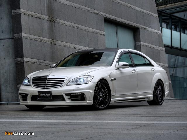 WALD Mercedes-Benz S-Klasse Black Bison Edition Sports Line (W221) 2010–13 pictures (640 x 480)
