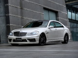 WALD Mercedes-Benz S-Klasse Black Bison Edition Sports Line (W221) 2010–13 pictures