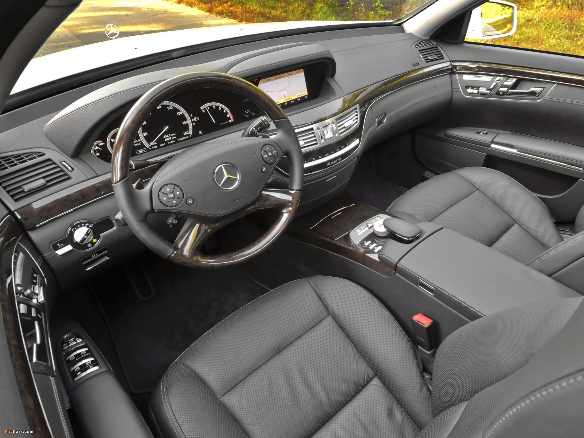 Mercedes-Benz S 350 BlueTec US-spec (W221) 2010–13 pictures (2048 x 1536)