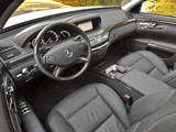 Mercedes-Benz S 350 BlueTec US-spec (W221) 2010–13 pictures