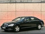 Mercedes-Benz S 600 Guard (W221) 2010–13 wallpapers