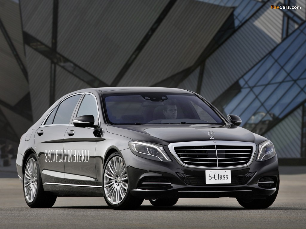 Mercedes-Benz S 500 Plug-In Hybrid (W222) 2013 images (1024 x 768)