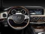 Mercedes-Benz S 350 BlueTec AMG Sports Package (W222) 2013 images