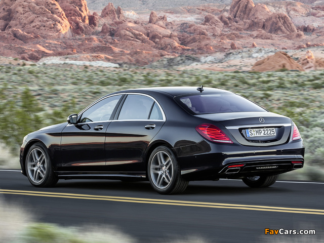 Mercedes-Benz S 500 AMG Sports Package (W222) 2013 photos (640 x 480)