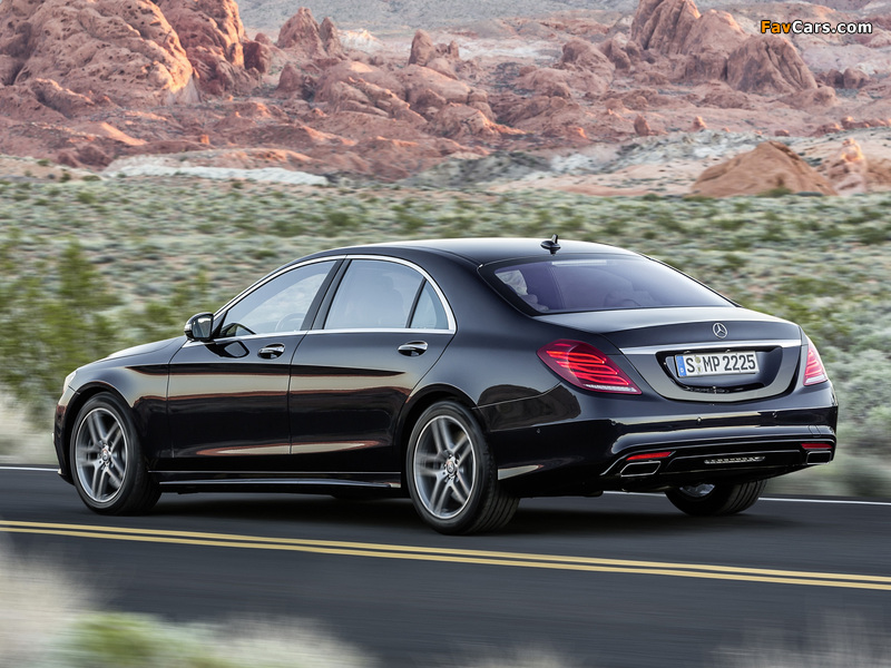 Mercedes-Benz S 500 AMG Sports Package (W222) 2013 photos (800 x 600)