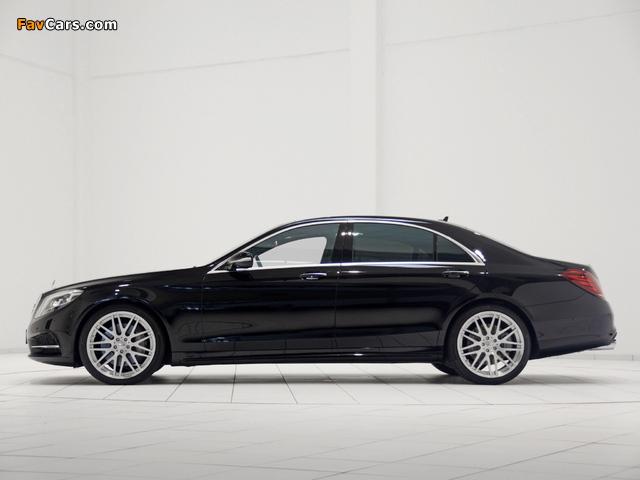 Brabus Mercedes-Benz S-Klasse (W222) 2013 photos (640 x 480)