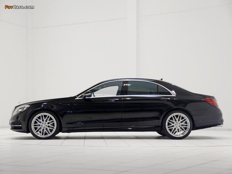 Brabus Mercedes-Benz S-Klasse (W222) 2013 photos (800 x 600)