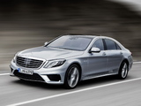 Mercedes-Benz S 63 AMG (W222) 2013 pictures