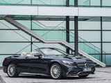 Mercedes-AMG S 65 Cabriolet (A217) 2016 images
