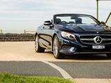 Mercedes-Benz S 500 Cabriolet AU-spec (A217) 2016 images