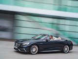 Mercedes-AMG S 65 Cabriolet (A217) 2016 pictures