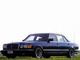 Gemballa Mercedes-Benz S-Klasse (W126) photos
