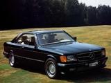 Carat by Duchatelet Mercedes-Benz 500 SEC (C126) pictures