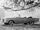 Photos of Mercedes-Benz 300 SE Cabriolet (W112) 1962–67