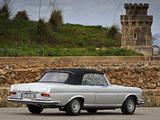 Photos of Mercedes-Benz 280 SE Cabriolet (W111) 1967–71
