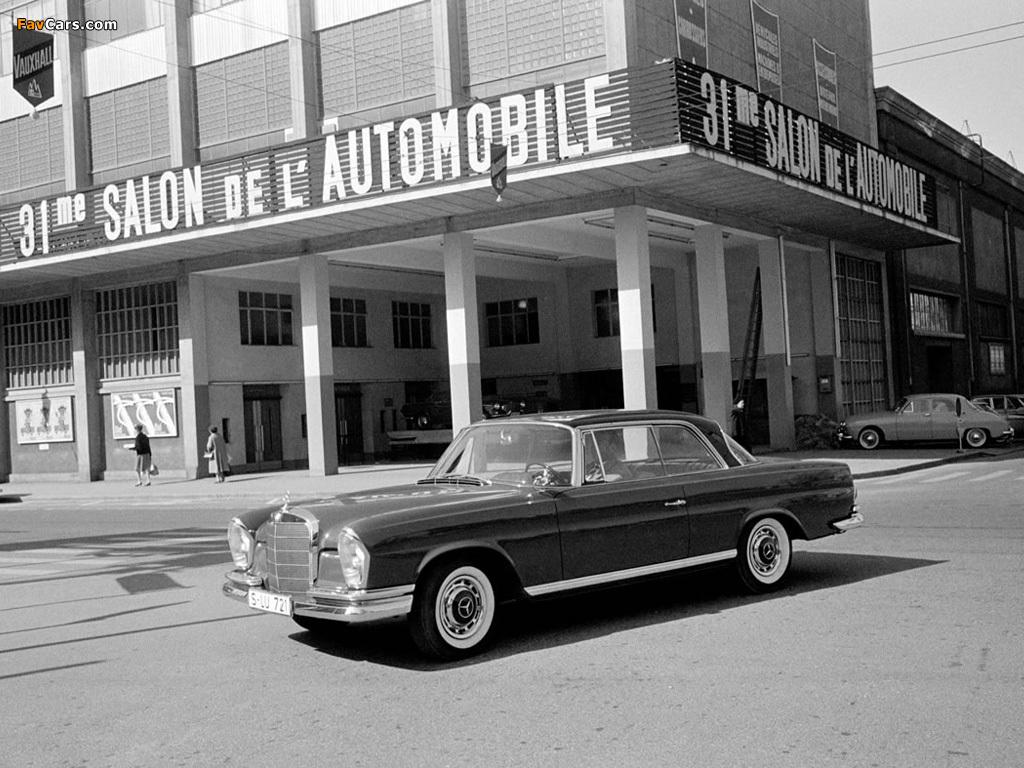 Photos of Mercedes-Benz 280 SE Coupe (W111) 1967–71 (1024 x 768)