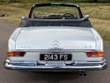 Photos of Mercedes-Benz 280 SE Cabriolet UK-spec (W111) 1967–71