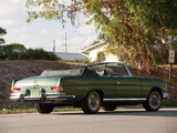 Photos of Mercedes-Benz 280 SE Cabriolet US-spec (W111) 1967–71