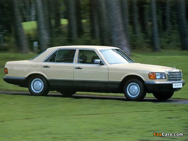 Photos of Mercedes-Benz 280 SE (W126) 1979–85 (640 x 480)