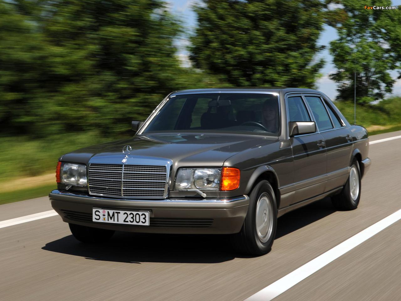 Photos of Mercedes-Benz S-Klasse (W126) 1979–91 (1280 x 960)