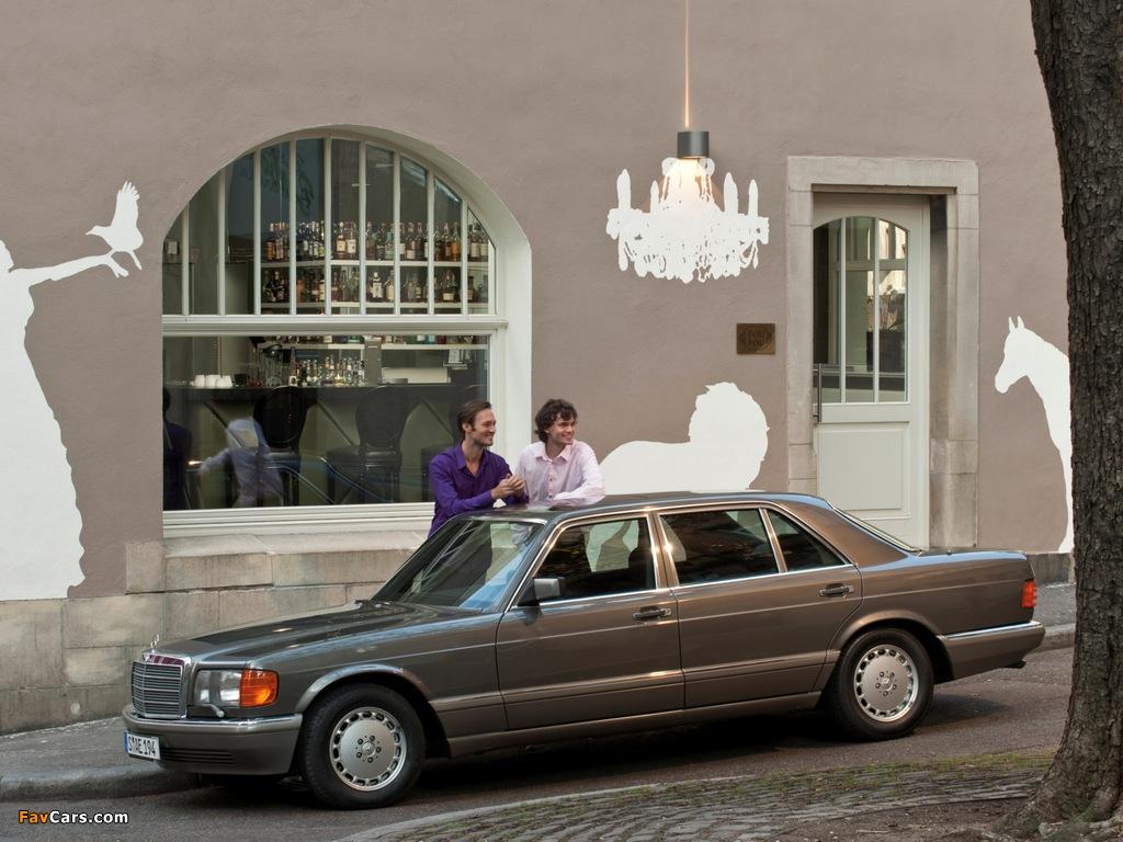 Photos of Mercedes-Benz S-Klasse (W126) 1979–91 (1024 x 768)