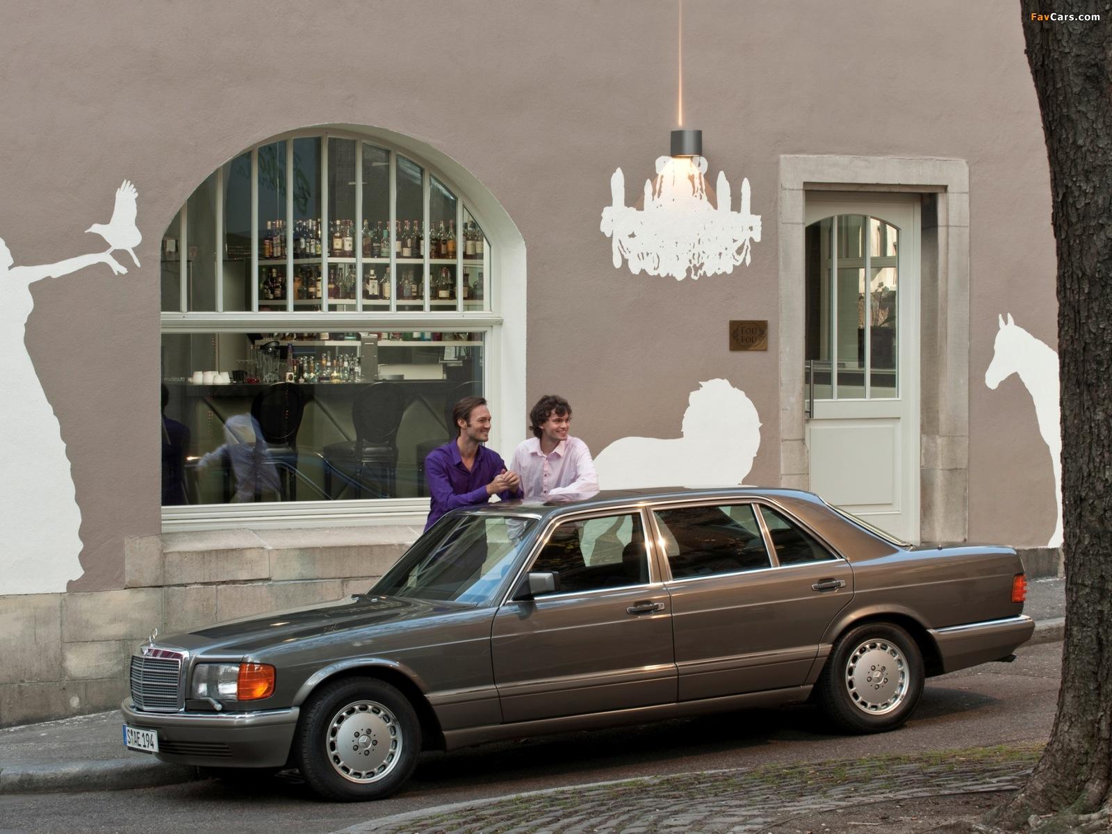 Photos of Mercedes-Benz S-Klasse (W126) 1979–91 (1600 x 1200)