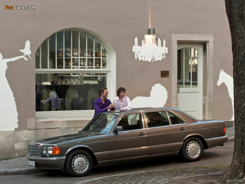 Photos of Mercedes-Benz S-Klasse (W126) 1979–91 (800 x 600)