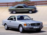 Photos of Mercedes-Benz 380 SEC (C126) 1981–85