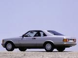 Photos of Mercedes-Benz 500 SEC (C126) 1981–91