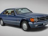 Photos of Mercedes-Benz 380 SEC UK-spec (C126) 1981–85