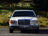 Photos of Mercedes-Benz 500 SEL Guard (W126) 1985–91