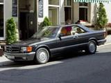 Photos of Mercedes-Benz 560 SEC (C126) 1985–91