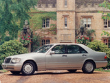 Photos of Mercedes-Benz S-Klasse UK-spec (W140) 1993–98