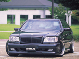 Photos of WALD Mercedes-Benz S-Klasse (W140) 1993–98